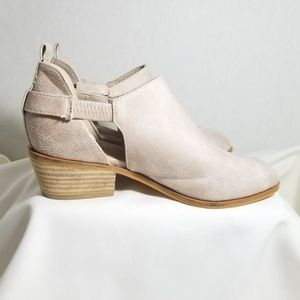 Beast Fashion Taupe Tan Booties Womens Size 6